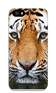 iPhone 5 5S Case Ferocious Tiger 3D Custom iPhone 5 5S Case Cover