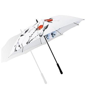 XZB Sombrilla, paraguas de golf a prueba de viento Toldo de gran tamaño impermeable y a