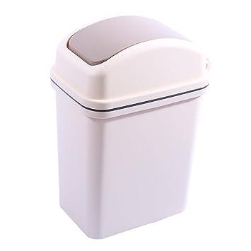Amazon Com Lingxuinfo 10l Trash Can Wastebasket Waste Bin Trash Bin