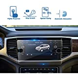 LFOTPP 2018 Volkswagen Atlas 8 Inch Tempered Glass Car Navigation Screen Protector, [9H] Infotainment Screen Center Touch Screen Protector Anti Scratch High Clarity