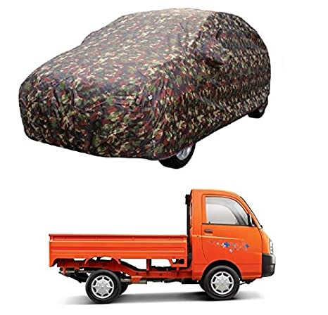 Motrox Car Body Cover For Mahindra Maximo Plus With Side Mirror