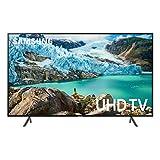 """Samsung 65"""" RU7100 4K Ultra HD Smart TV (2019) (UN65RU7100FXZC) [Canada Version], Charcoal Black"""