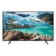 """Samsung 50"""" RU7100 4K Ultra HD Smart TV (2019) (UN50RU7100FXZC) [Canada Version] - Charcoal Black"""