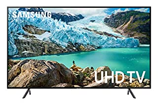 "Samsung 55"" RU7100 4K Ultra HD Smart TV (2019) (UN55RU7100FXZC) [Canada Version], Charcoal Black (B07NC6X9QL) 