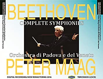 TBRCD0039 ペーター・マーク指揮パドヴァ・ヴェネト管 ベートーヴェン:交響曲全集