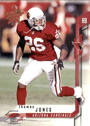 Thomas Football Nfl Jones (Football NFL 2001 Leaf Rookies and Stars #86 Thomas Jones #86 EX Cardinals)