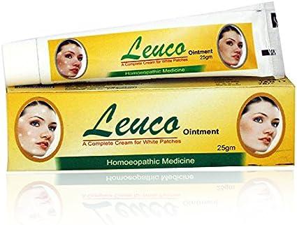 Amazon Com Hahnemann Pharma Leuco Ointment For Leucoderma Vitiligo With Resorcin Psorela Chaulamoogra 25gms Pack Of 2 Health Personal Care