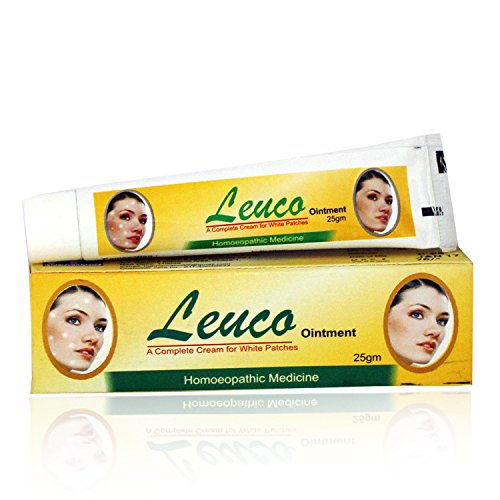 Hahnemann Pharma Leuco Ointment for Leucoderma, Vitiligo with Resorcin, Psorela, Chaulamoogra 25Gms Pack of 2