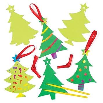 Kratzbild Anhanger Weihnachtsbaumschmuck Fur Kinder Fur Kinder Zum