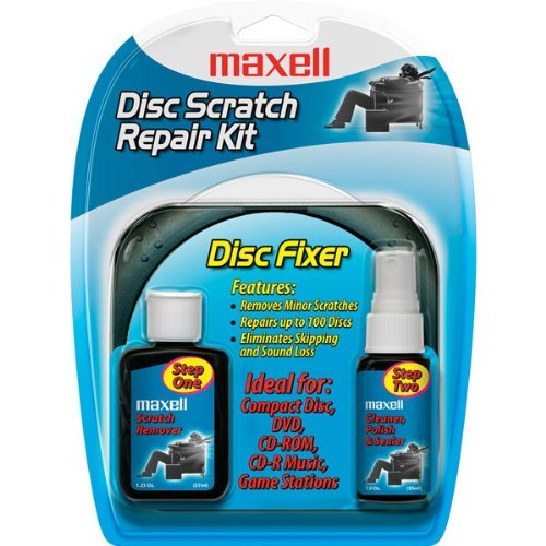 Maxell 190041 Cd/Cd-Rom Scratch & Repair Kit