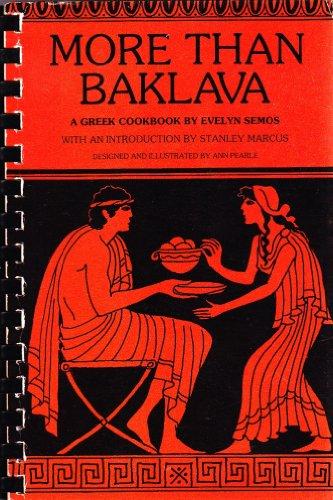 More than baklava: A Greek cookbook ()