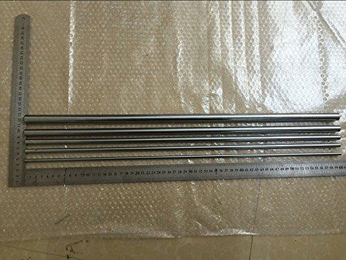20x6mm Cylinder - Ochoos Cylinder Liner Rail Linear Shaft Optical Axis OD 5mm/6mm/8mm/10mm/12mm/16mm/20mm x 600mm - (Diameter: 5mm)