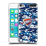 Official NBA Digital Camouflage Oklahoma City Thunder Soft Gel Case for Apple iPod Touch 6G 6th Gen