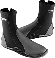Cressi ISLA, Elastic Neoprene Tall Boot with Sole for Scuba Diving, Snorkeling, and Freediving - Cressi: Quali