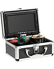 KKmoon Fischfinder Kamera 30M Unterwasser HD 1200TVL für Eis / Sea / Fluss Angeln mit 7 Zoll LCD Monitor