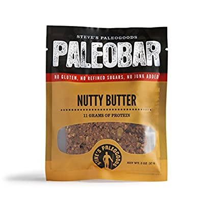 Steve's PaleoGoods Nutty Butter PaleoBar 2oz