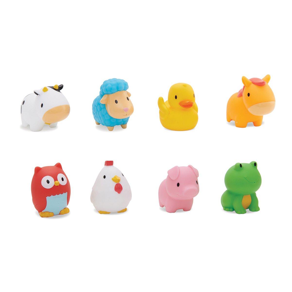 Munchkin Animalitos flotantes de granja lanzachorros (pack de 8) product image