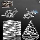 580 Pcs Magnet Building Blocks Construction Set 280 Magnetic Sticks 300 Ball Puzzle Stacking Game Sculpture Toys