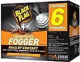 Pack of 1 : Black Flag HG-11079 6 Count Indoor Fogger