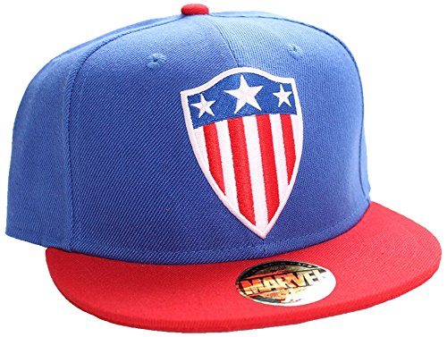 Five Oaks Marvel Captain America Shield Snapback Cap -