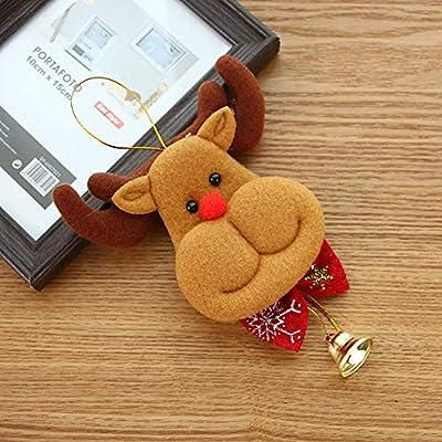 Gaddrt Orso ciondolo albero di Natale appeso Babbo Natale ornamenti  decorazioni campane regali A. Caricamento immagini in corso. 4e602b44ad5c