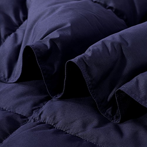 Puredown Packable Down Throw Sport Blanket, Downproof Fabric, 50×70""