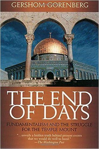 Gorenberg Gershom - The end of days