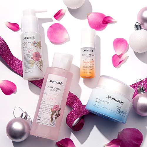 Mamonde Floral Energy Discovery Skincare Set | Cleanser | Toner | Serum | Cream