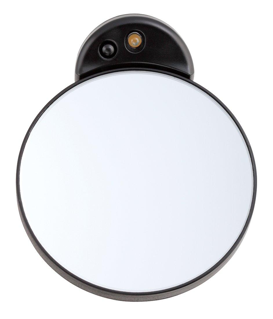 Tweezerman Studio Collection Tweezermate Kosmetikspiegel Schminkspiegel Vergrößerung Licht 10-fach 6765-LLT