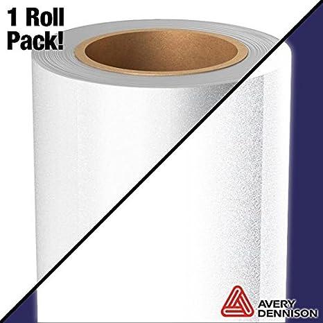 Avery blanco plata reflectante de grado Industrial Craft rollo de vinilo para Cricut, silueta y Cameo máquinas: Amazon.es: Juguetes y juegos