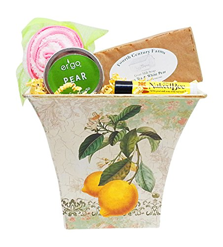 Gift For Mom - Mother's Day Green Tea and Pear Aromatherapy Gift Set