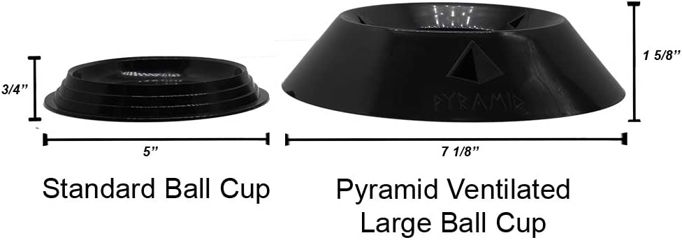 Pyramid Ventilated Large Bowling Ball Cup