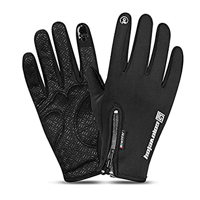 Men s and women s winter gloves snow gloves warm waterproof windproof ski snowmobile gloves Winter windproof snowboard snow warm touch screen cold weather ladies gloves wristband outdoor sports travel Estimated Price £15.53 -