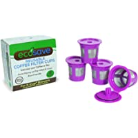 4-Pack Perfect Pod ECO-Save Reusable K-Cup Coffee Pod Filters