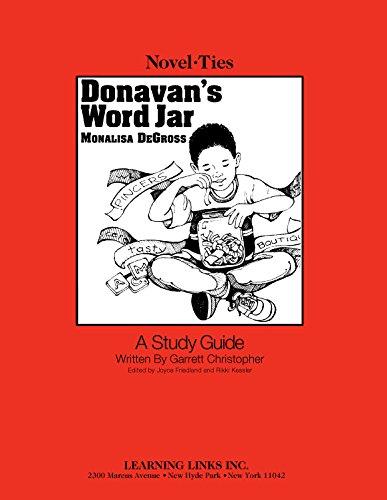 Word Jar - Donavan's Word Jar: Novel-Ties Study Guide