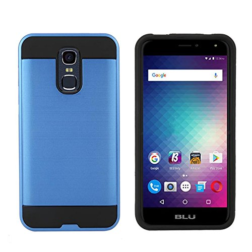 blu-life-max-l0110uu-shockproof-hybrid-aluminum-armor-bumper-for-2-in-1-cover-case-blue-