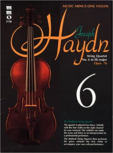 Haydn String Quartet No 6 In E Flat Major Opus 76 Violin