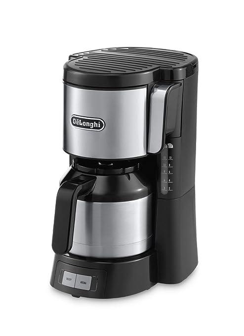 DeLonghi ICM 15740 - Cafetera de filtro, 1000 W, 1.25 L ...