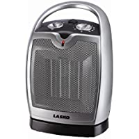 Lasko Oscillating Ceramic Heater Ceramic 1 , 500 W 6 In. X 7 In. X 9.2 In. Cool Touch