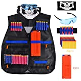 Gifts for 3-12 Year Old Boy Girls,Tactical Vest Kit for Nerf Guns Kids Toys for 2-10 Year Old Boys Girls Age 4-13 Birthday