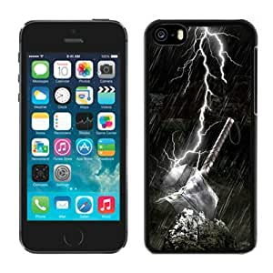 4EVER Cool Cell Case for Iphone 5C Black, Thor Iphone 5C Shell Cover