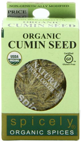 Spicely Organic Cumin Seeds Whole - Compact