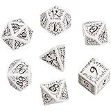 Elvish Dice White/Black (7) Board Game