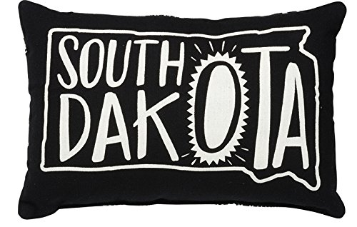 Primitives by Kathy Home State South Dakota Decorative Throw Pillow, 12 x 8-Inch