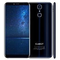 """CUBOT X18(2017) - 4G Android 7.0 Smartphone di rilascio (Touch Screen 5.7 """"HD, batteria 3200mAh, 3GB di RAM + 32GB ROM, Quad core, dual sim, Fotocamera dà 16 MP, 1,5 GHz),nero [CUBOT UFFICIALE]"""
