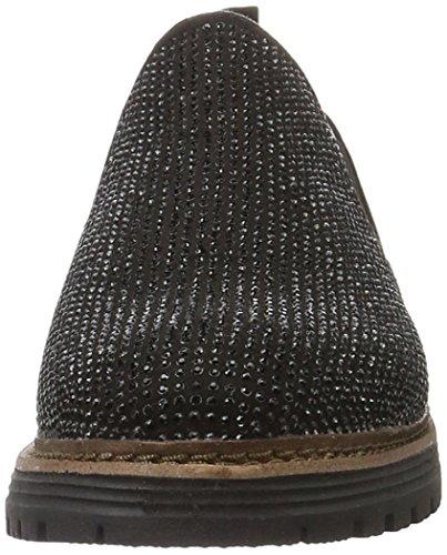 Mocasines Black Mujer Softline 24666 para Negro 001 Pwq8a5X6
