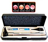 HARD CASE- Third Generation Dr Mom Slimline Stainless LED Pocket Otoscope now includes Pocket Clip