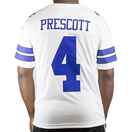 size 40 b60eb 813f6 Amazon.com : Dallas Cowboys NFL Dak Prescott Mens Nike ...