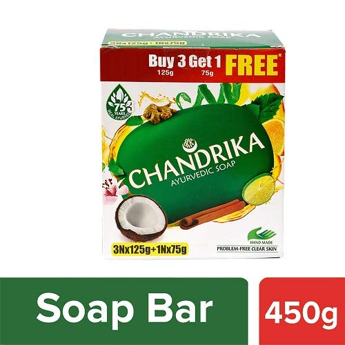 Chandrika Ayurveda Soap For Healthy Skin 125g
