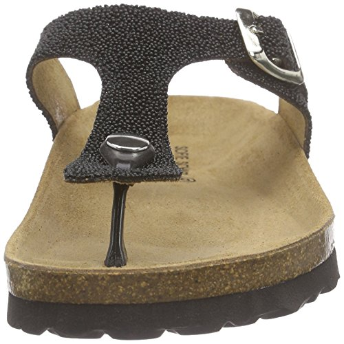 Sofie Schnoor Sandal Toe Strap - Sandalias Mujer Negro - negro